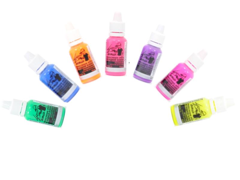 EXMIX® - Набор из 7 Флуоресцентных цветов